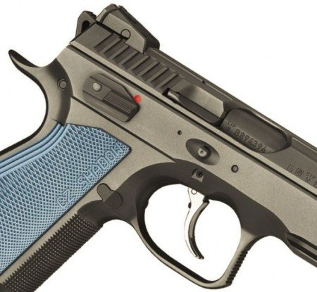 The CZ Shadow 2 will have an ambidextrous safety lever, and enhanced tang.