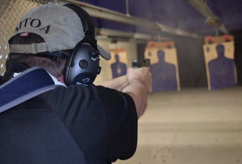 We had no problems shooting the ETS Glock magazines.