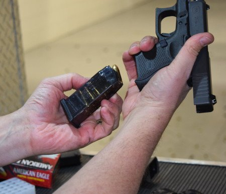 ETS magazines had an excellent fit in the Glock pistols.