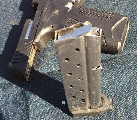 Metal magazines, and ambidextrous magazine release levers are just a few of the features of the PD10