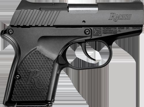 Remington's RM380 compact .380 ACP pistol.