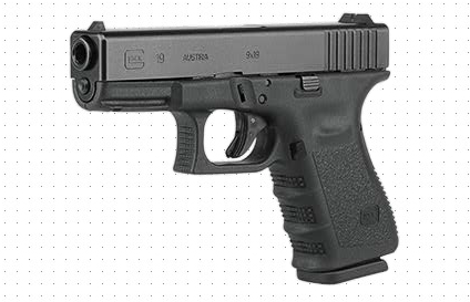 The Glock 19 is considered a Compact pistol, being slightly smaller than the full-size Glock 17. However, it still maintains a 15+1 capacity.