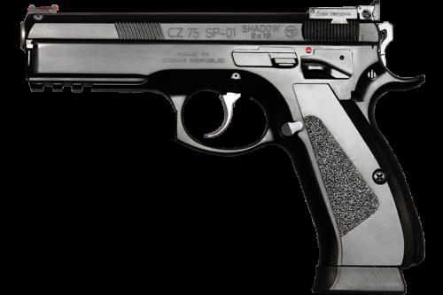 The original CZ 75 SP-01 Shadow. (photo by CZ)