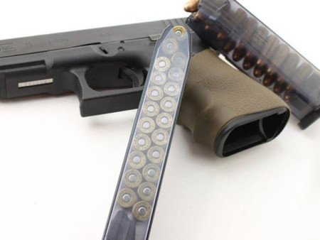 Larger ETS magazines perform just fine in compact or sub-compact Glock pistols.