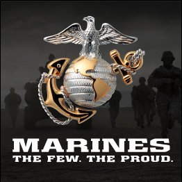"The U.S. Marines pride themselves in being ""The Few, The Proud""."