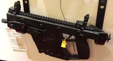The Vector II 9mm pistol is a bit heavy for my pistol likes.