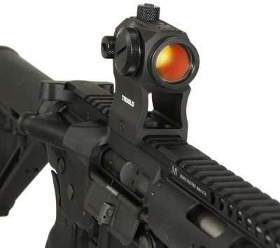 TRUGLO TRU-TEC 20mm optic with high riser.