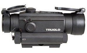TRUGLO TRU-TEC 30mm optic with laser option.