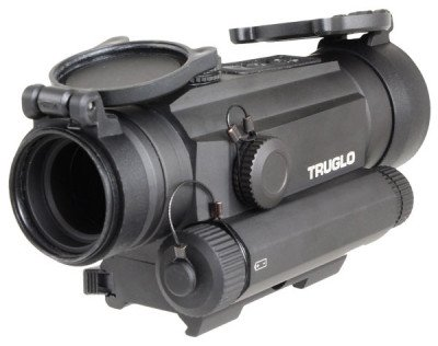 The TRUGLO TRU-TEC 30mm optic comes with a quick-detach mount.