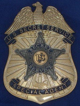 The U.S. Secret Service Special Agent badge.