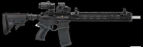 The Scorpion X2 grip fits Mil-Spec receivers .