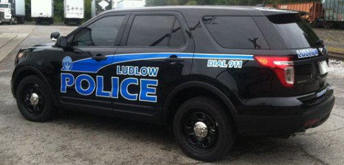 One of the Ludlow, Ky Police cruisers (photo by Ludlow Police).