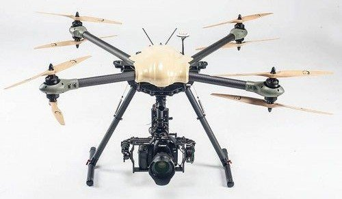 Civilian drones are increasing (photo on Pintrest).