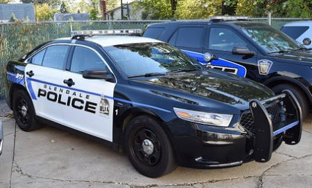 A Glendale, OH Police cruiser like the one Officer Hilling drove (photo from flickr).