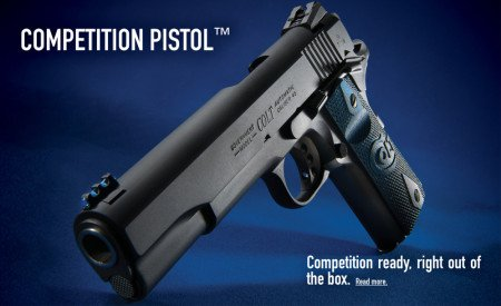 The Model 1911 has gone through several upgrades, but continues to be highly popular.
