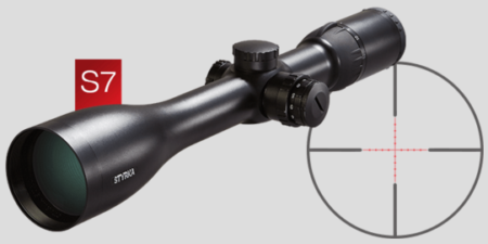 The Styrka S7 series of scopes have the most advanced features.