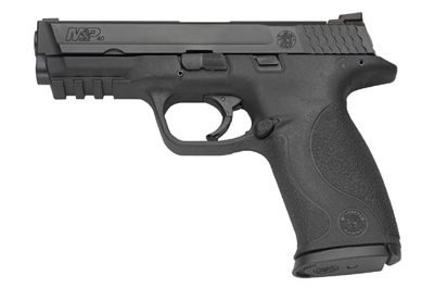 Smith & Wesson M&P pistols are making a strong push into LE (photo by S&W).