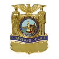 Portland, OR Police badge (photo by Portland Police).