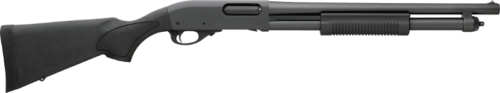 The Remington 870 is an iconic law enforcement shotgun (though mine had a wood stock).