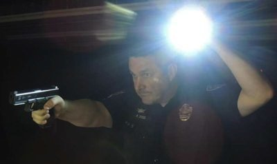 Proper flashlight use by patrol officers can be critical for success.