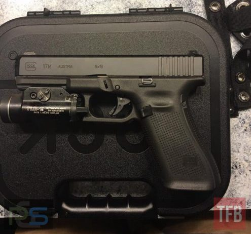 The new Glock 17M, with Streamlight TLR-1 attached photo from our friends at TheFirearmBlog.com).