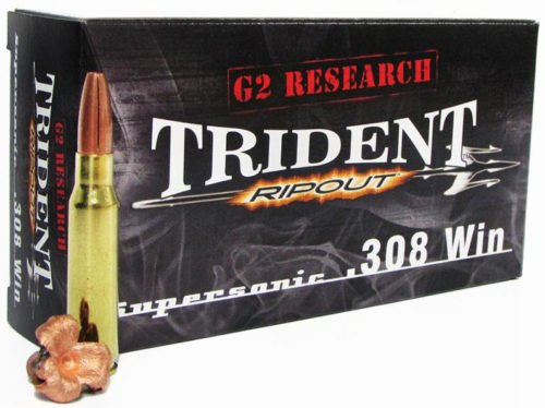 The new G2 Research Trident could be a viable police sniper round.