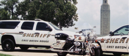 East Baton Rouge Sheriff's vehicles (photo by ebrso.org).