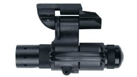 The Safariland RLS uses a one-inch 190-lumen flashlight.