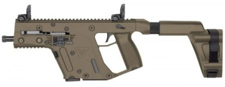 The Vector II SDP-SB in FDE with support brace.