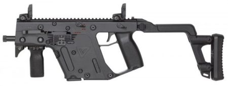 The KRISS Vector II SMG has full auto capability and is restricted to LE and Military sales.
