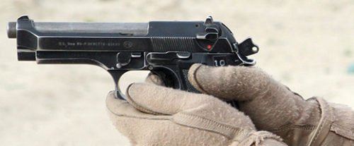 The Beretta M9 was the U.S. Military's handgun for 30 years (photo by Beretta).