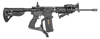 FAB Defense AR-15 Podium provides a central balance point.