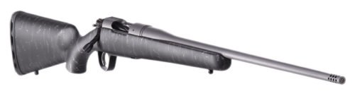 Carbon fiber stock with a Tungsten Cerakote stainless steel barrel are just a few of the fine features.