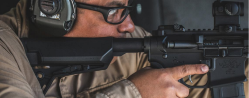 The Magpul MOE SL-S stock advances features of the original SL stock.