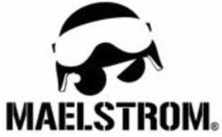 Maelstroms logo appears to be a no-nonsense SWAT guy.