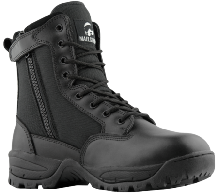 "The Maelstrom Tac Force 8"" side zip boot."