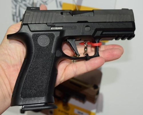 Another look at the standard Sig Sauer P320 Carry.
