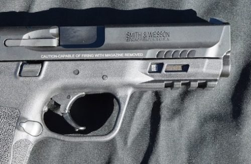 The M&P 2.0 front slide serrations worked O.K., but seemed more aesthetic than practical.