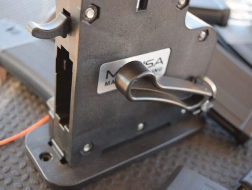 The Mag Pump uses a lever to manually load cartridges into the inserted magazine.