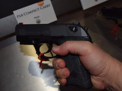 The new PX4 Storm Compact Carry has an outstanding grip.