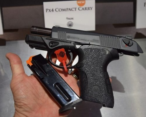 Beretta PX4 Storm Compact Carry come with 3) 15-round steel magazines.