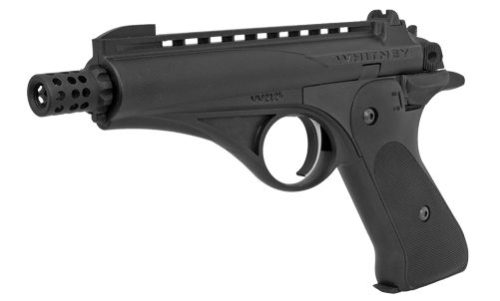 The Olympic Arms Whitney Wolverine pistol.