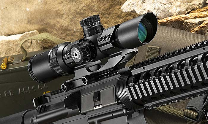 Barska 1-4x28 scope