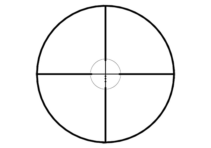 Weaver Ballistic Reticle
