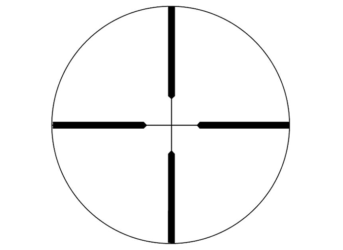 Weaver Kaspa reticle