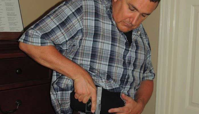 Concealed Carry Male Officer