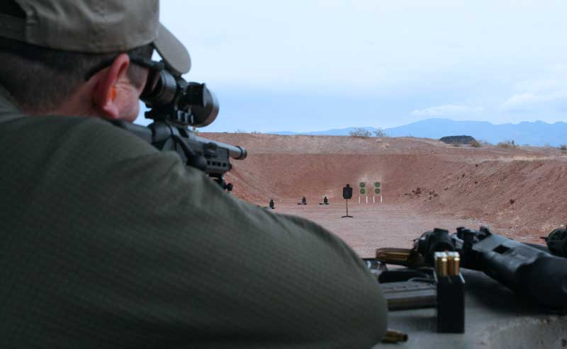 Steyr SSG sniper rifle