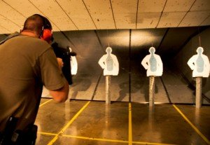 police firearms training