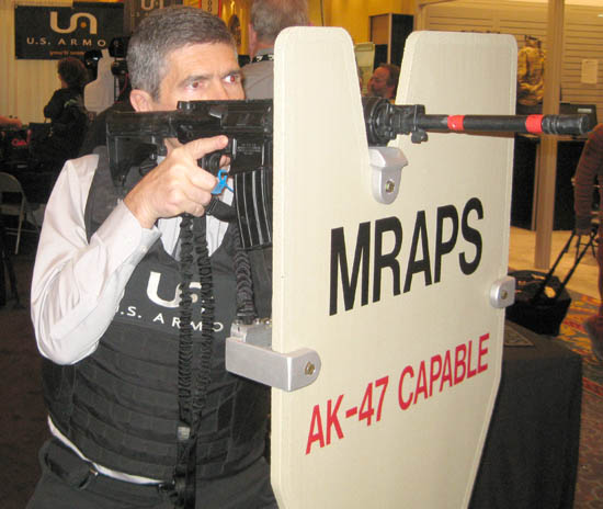 MRAPS Ballistic Shield