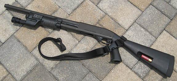 Police Shotgun